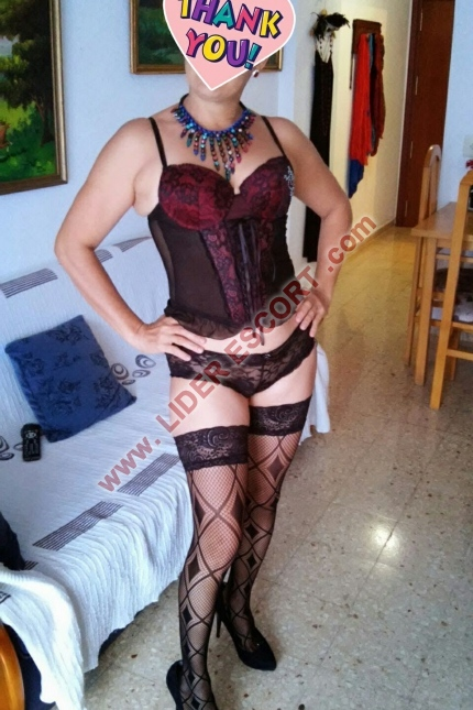 Lady in Benidorm -