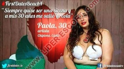 La sirenita de first dates! -