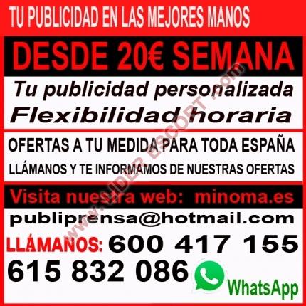 TU PUBLICIDAD EN LA MEJORES WEBS-MAS LLAMADAS -