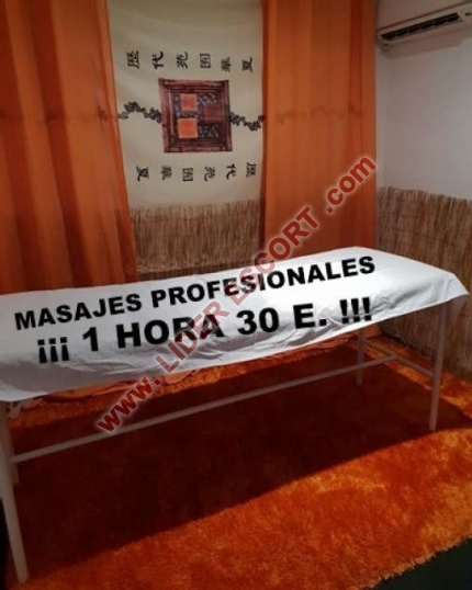 Masajista profesional (No sexo) -