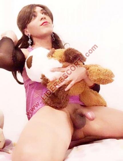 Travesti sexo real -