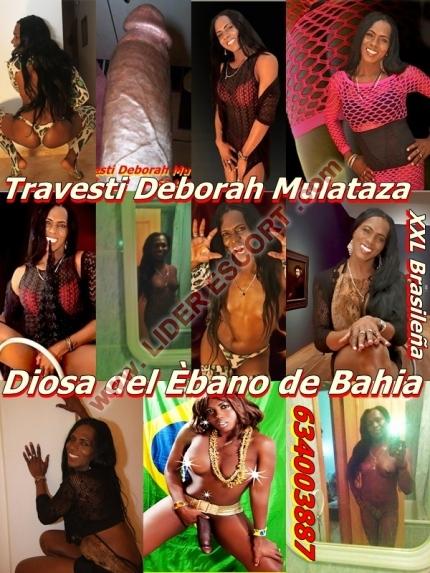 Travesti DeboRah mulataza XXL pervertida sensual dominante Últ dias -