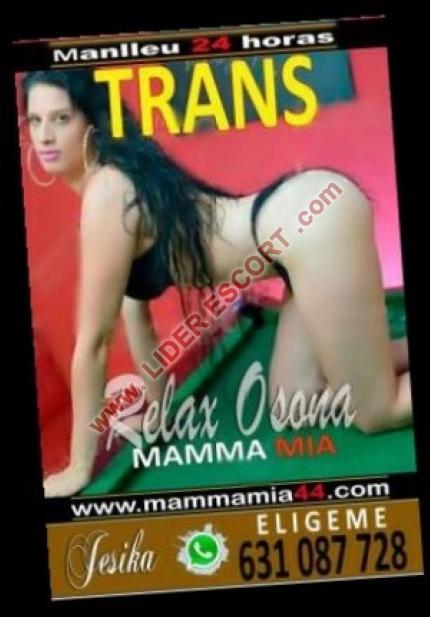 Trans exótica, guapa, completa -