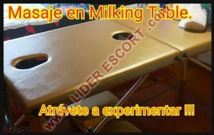 Experta en Milking table ... Masajes eróticos y algo más -