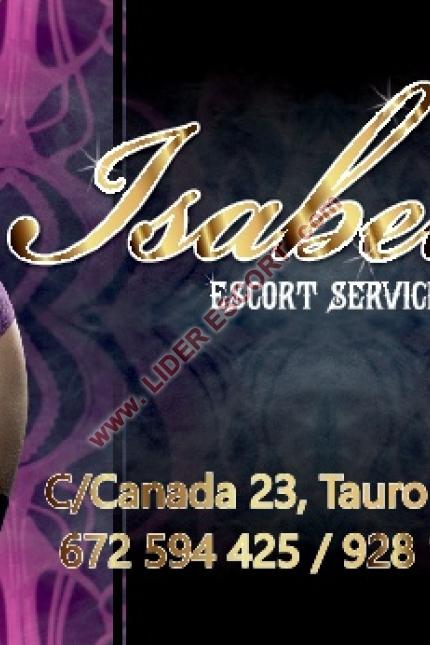 ISABELLA ESCORTS GRAN CANARIA -