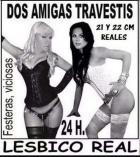 Lesbico real entre  dos trans