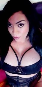 Novedad, guapa trans brasileña